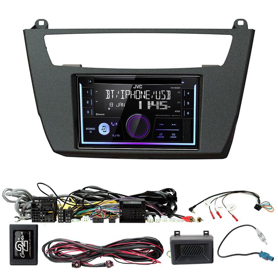 Kit d\'intégration BMW Série 1 de 2012 à 2016 et Série 2 de 2014 à 2019 + Autoradio multimédia USB/Bluetooth