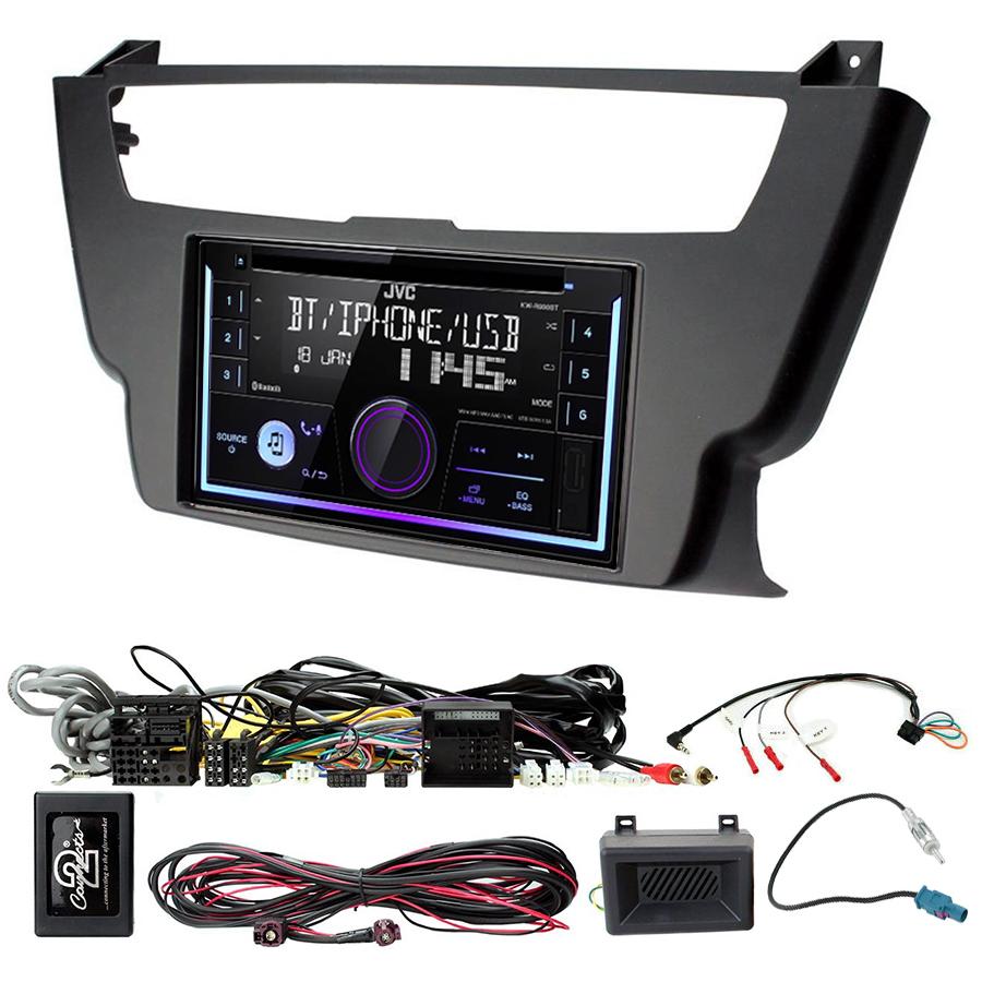 Kit d\'intégration BMW Série 3 et BMW Série 4 + Autoradio multimédia USB/Bluetooth