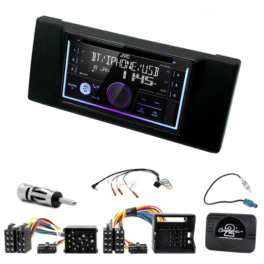 Kit d\'intégration BMW Série 5 E39 + Autoradio multimédia USB/Bluetooth