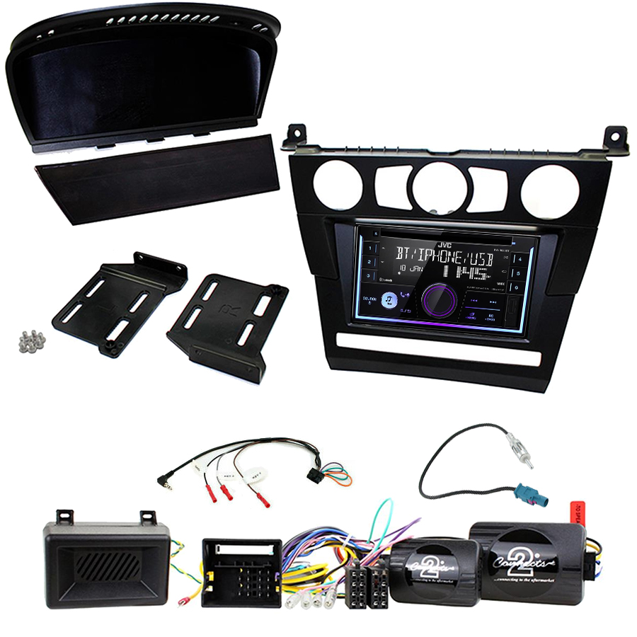 Kit d\'intégration BMW Série 5 e60 + Autoradio multimédia USB/Bluetooth