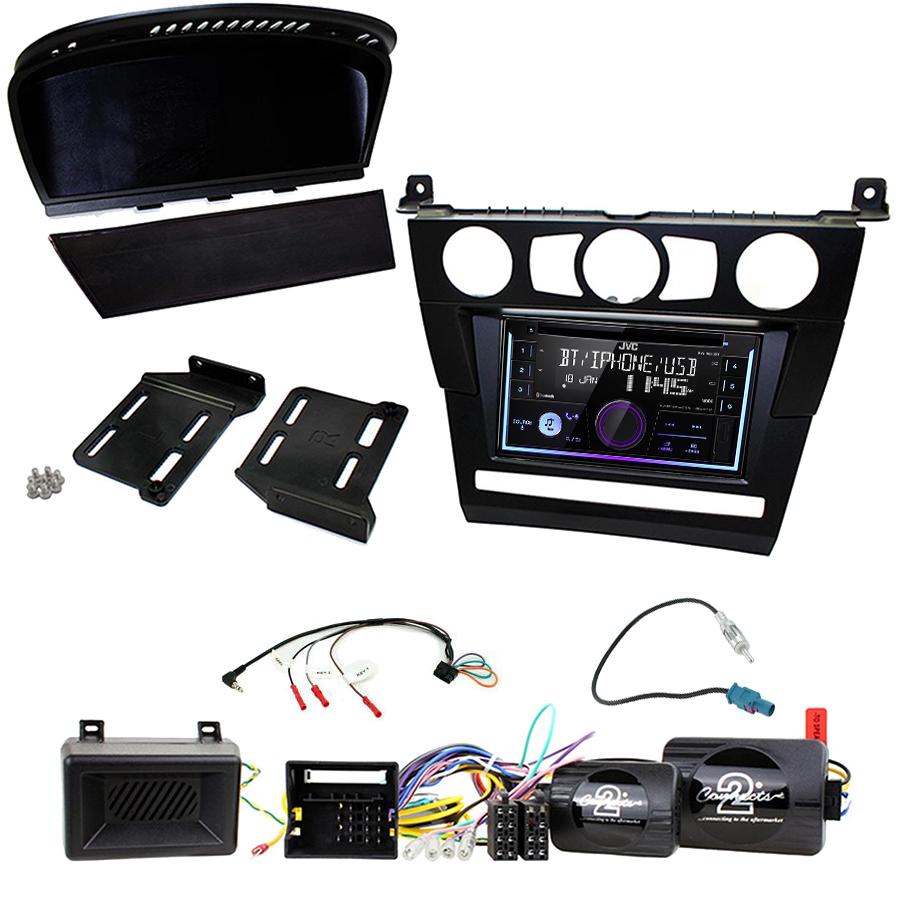 Kit d\'intégration BMW Série 5 e60 + Autoradio multimédia USB/Bluetooth