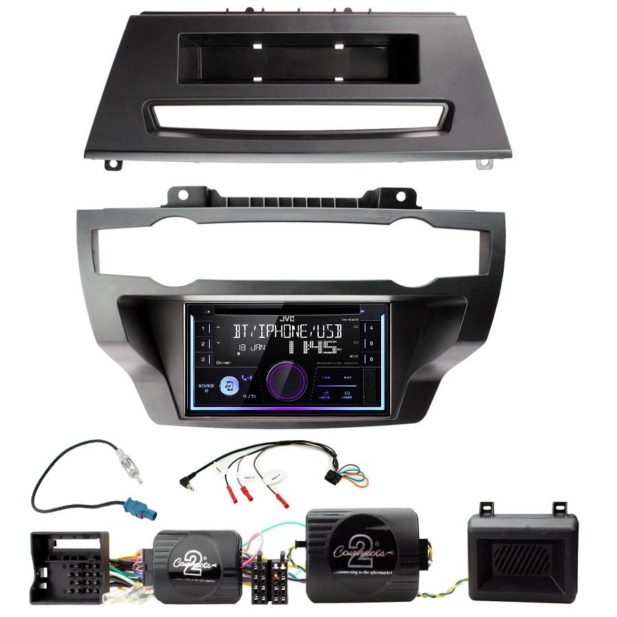 Kit d\'intégration BMW X5 et BMW X6 + Autoradio multimédia USB/Bluetooth