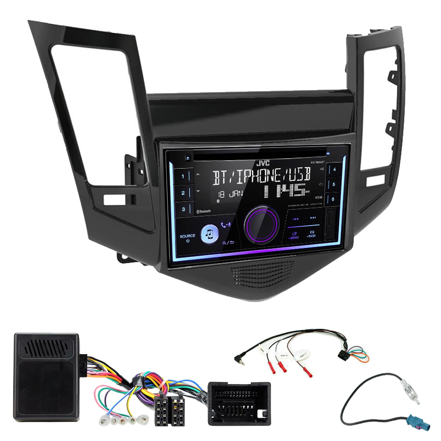 Kit d\'intégration Chevrolet Cruze de 05/2009 à 2012+ Autoradio multimédia USB/Bluetooth
