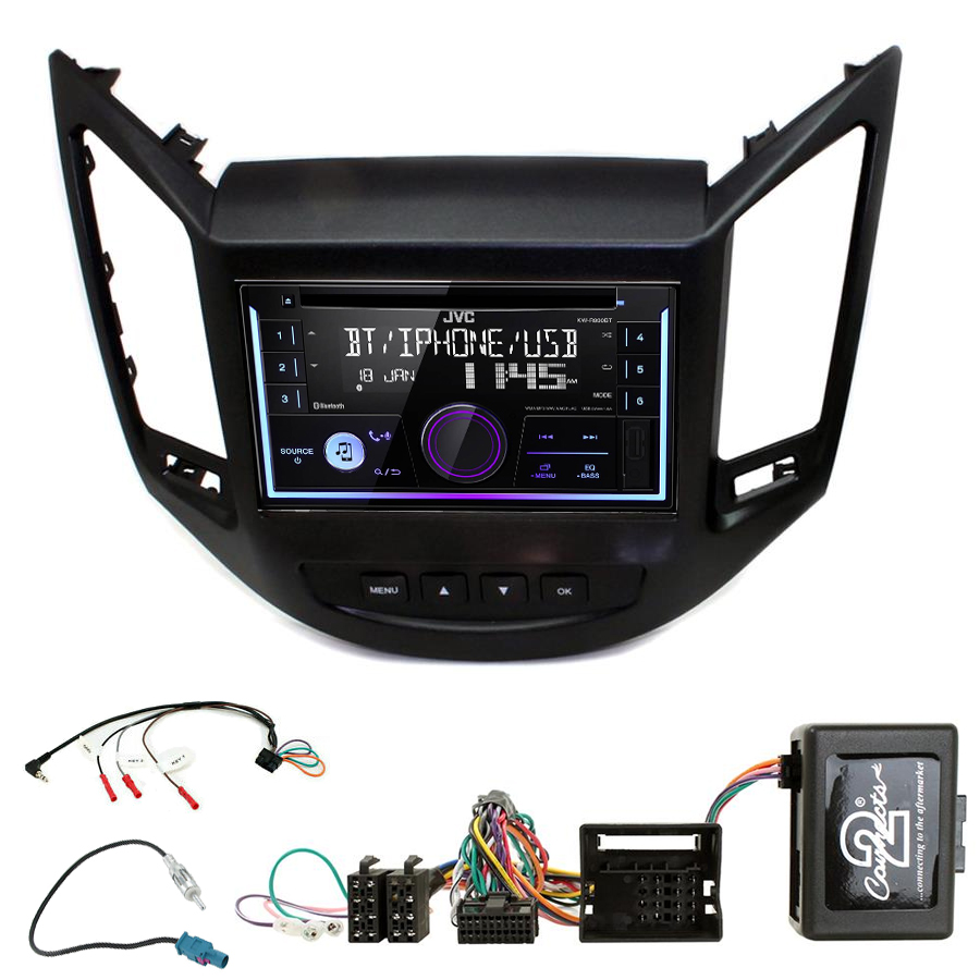 Kit d\'intégration Chevrolet Orlando de 10/2010 à 2018 + Autoradio multimédia USB/Bluetooth