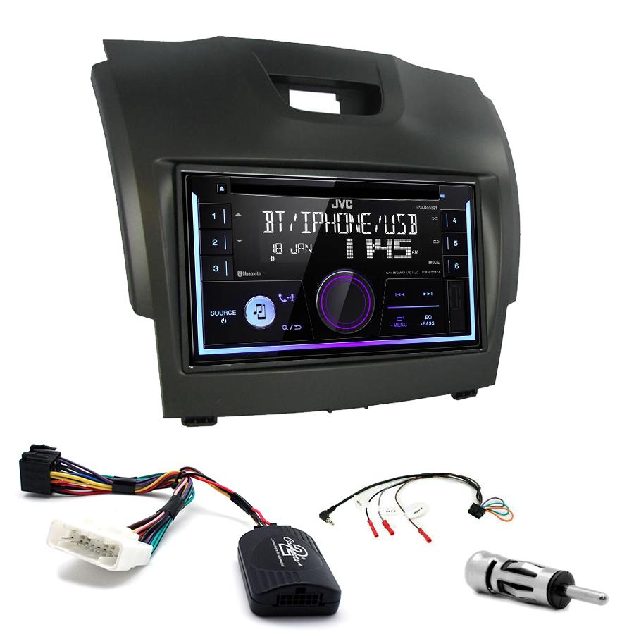 Kit d\'intégration Chevrolet Trailblazer + Autoradio multimédia USB/Bluetooth