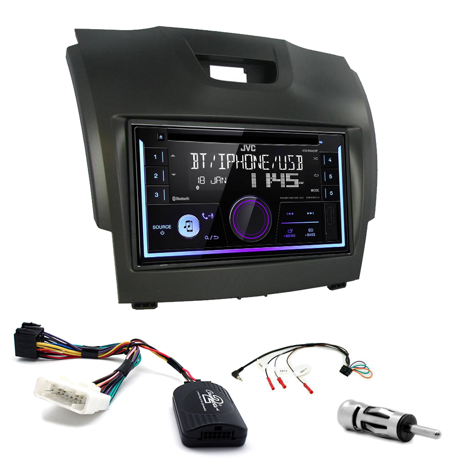 Kit d\'intégration Isuzu D-Max + Autoradio multimédia USB/Bluetooth