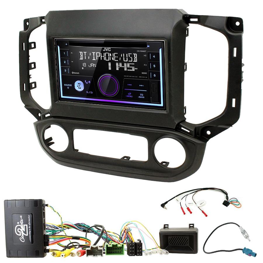 Kit d\'intégration Chevrolet Colorado et S10 + Autoradio multimédia USB/Bluetooth