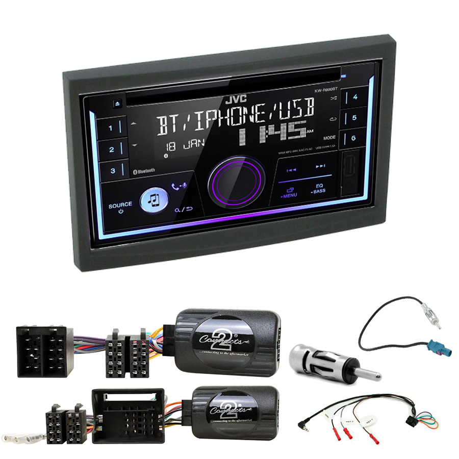 Kit d\'intégration Peugeot 207 307 3008 5008 Expert Partner + Autoradio multimédia USB/Bluetooth