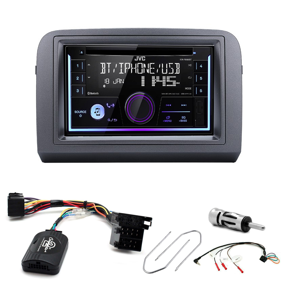 Kit d\'intégration Fiat Croma + Autoradio multimédia USB/Bluetooth