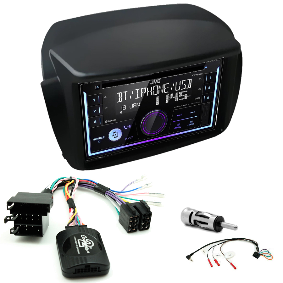 Kit d\'intégration Opel Combo de 2012 à 2015 + Autoradio multimédia USB/Bluetooth