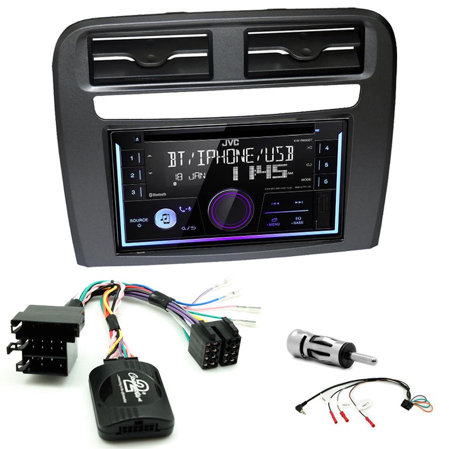 Kit d\'intégration Fiat Grande Punto + Autoradio multimédia USB/Bluetooth