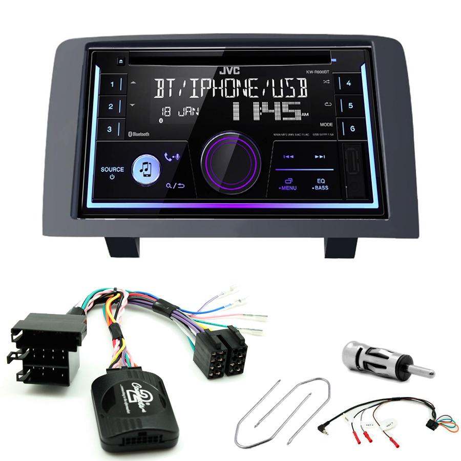 Kit d\'intégration Fiat Idea + Autoradio multimédia USB/Bluetooth