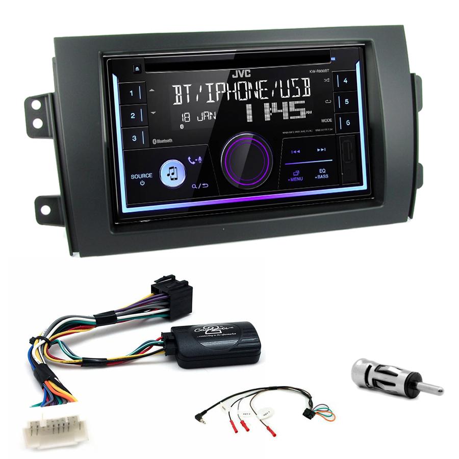 Kit d\'intégration Suzuki SX4 + Autoradio multimédia USB/Bluetooth
