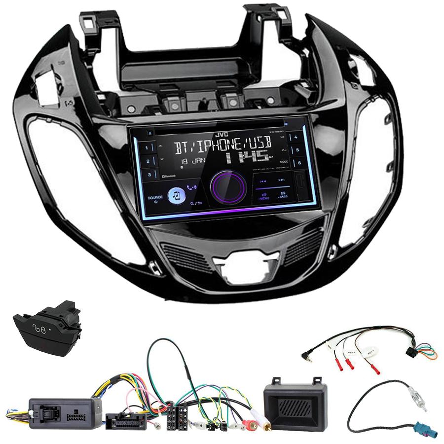 Kit d\'intégration Ford B-Max + Autoradio multimédia USB/Bluetooth