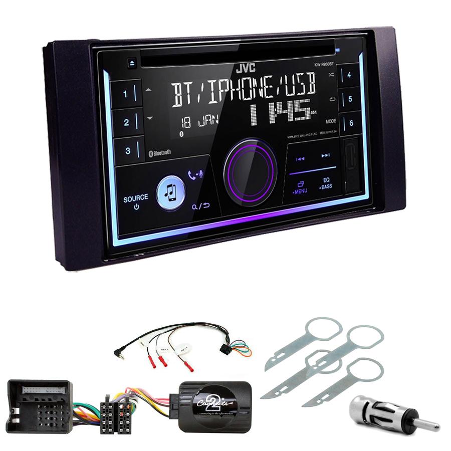 Kit d\'intégration Ford C-Max, Kuga, Focus, Fiesta, Fusion, Transit, S-Max + Autoradio multimédia USB/Bluetooth