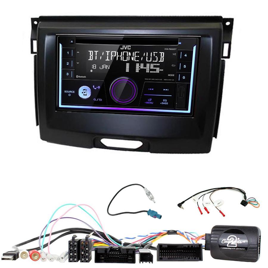 Kit d\'intégration Ford Everest et Ranger + Autoradio multimédia USB/Bluetooth