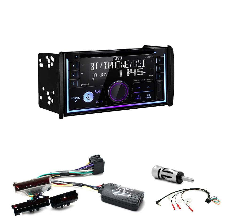 Kit d\'intégration Ford Mondeo Focus et Fiesta + Autoradio multimédia USB/Bluetooth