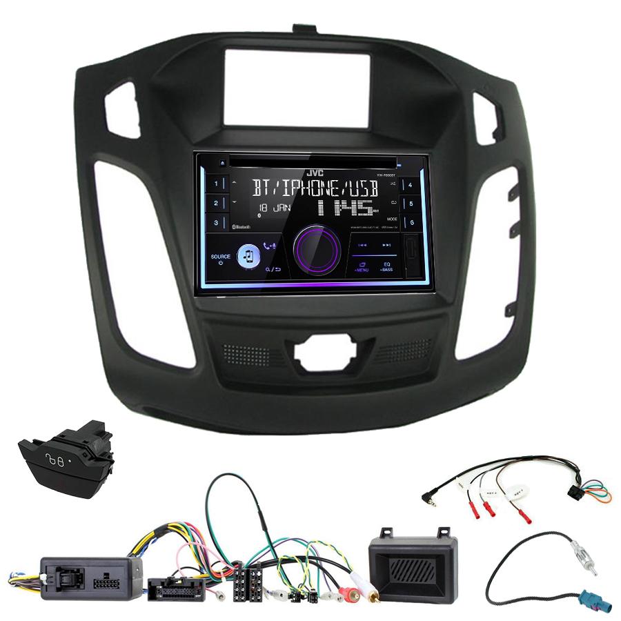 Kit d\'intégration Ford Focus de 04/2011 à 11/2014 + Autoradio multimédia USB/Bluetooth