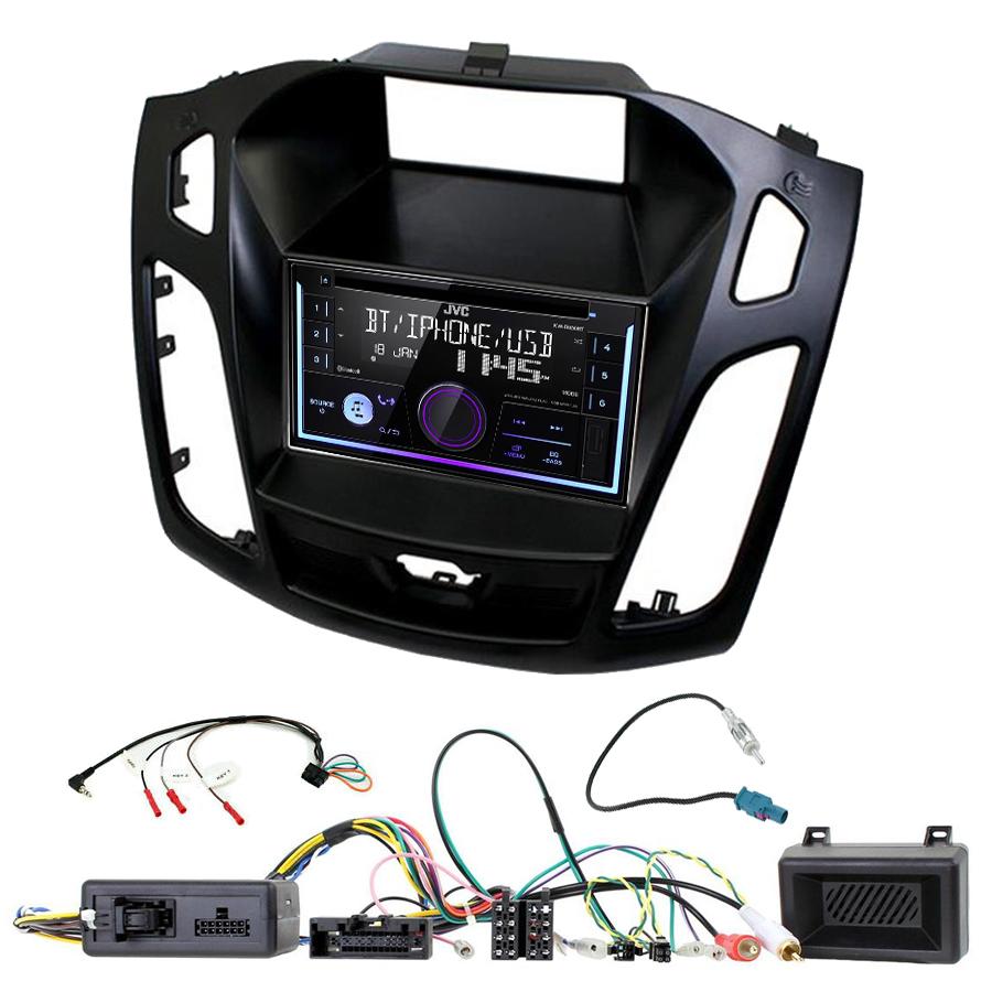 Kit d\'intégration Ford Focus de 2015 à 2018 + Autoradio multimédia USB/Bluetooth