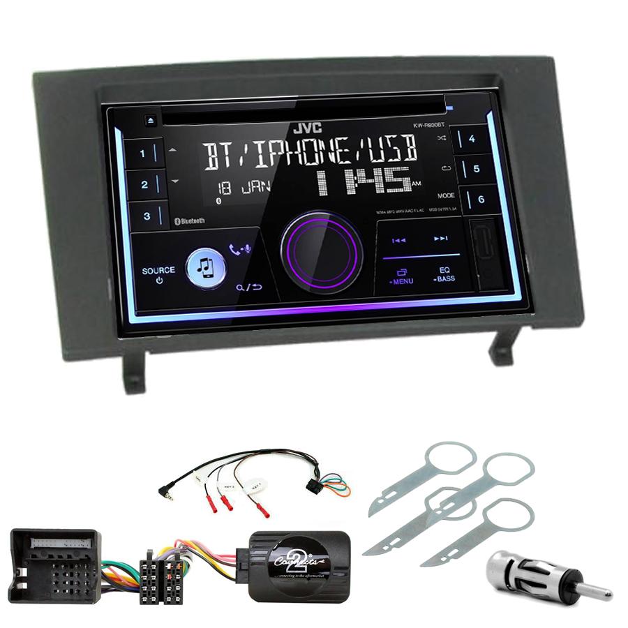 Kit d\'intégration Ford Mondeo de 2003 à 2007 + Autoradio multimédia USB/Bluetooth
