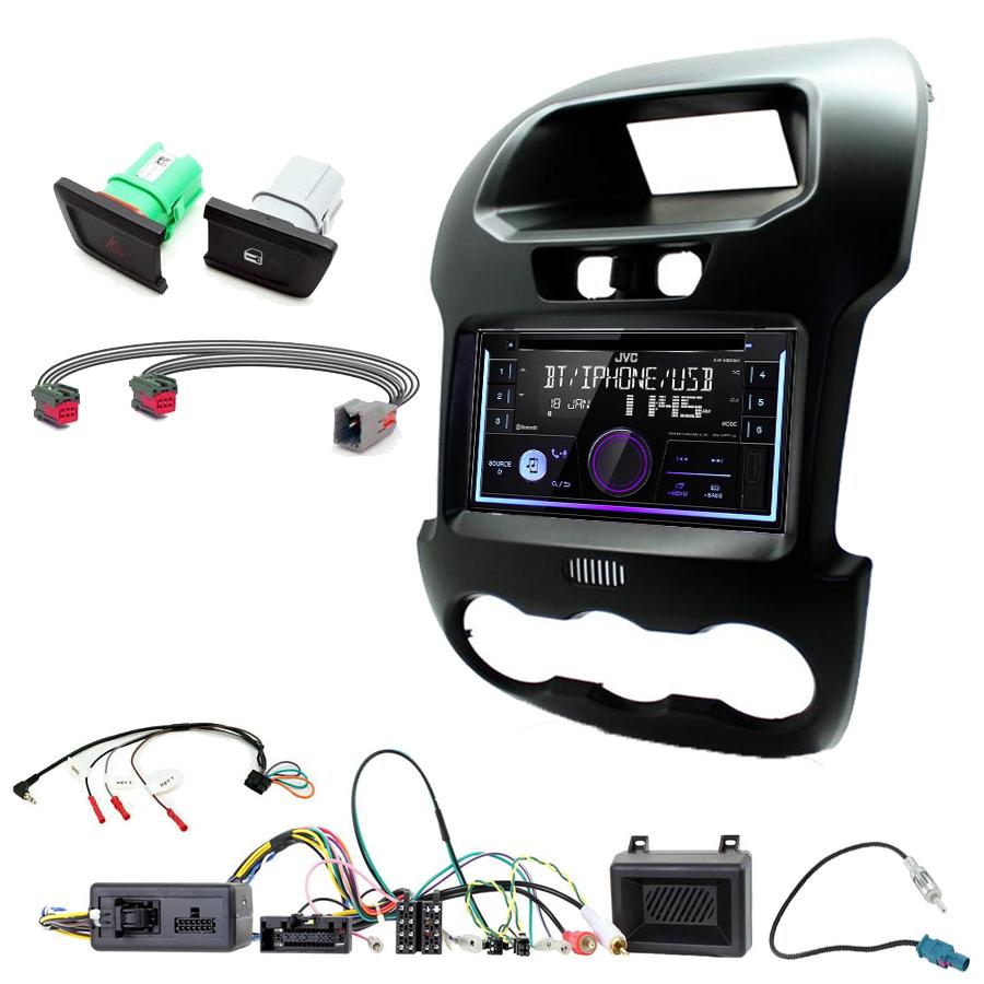 Kit d\'intégration Ford Ranger de 2012 à 2015 + Autoradio multimédia USB/Bluetooth