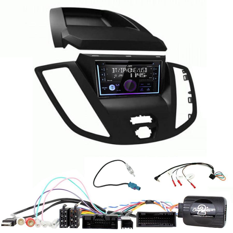 Kit d\'intégration Ford Transit de 2015 à 2019 + Autoradio multimédia USB/Bluetooth
