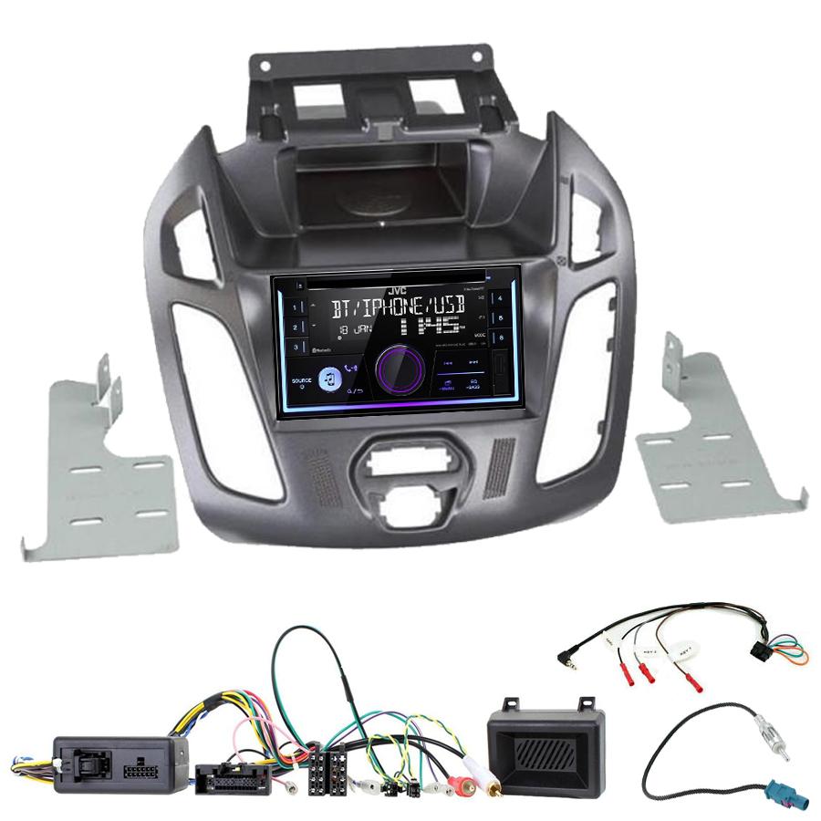 Kit d\'intégration Ford Transit Connect de 2013 à 2018 + Autoradio multimédia USB/Bluetooth