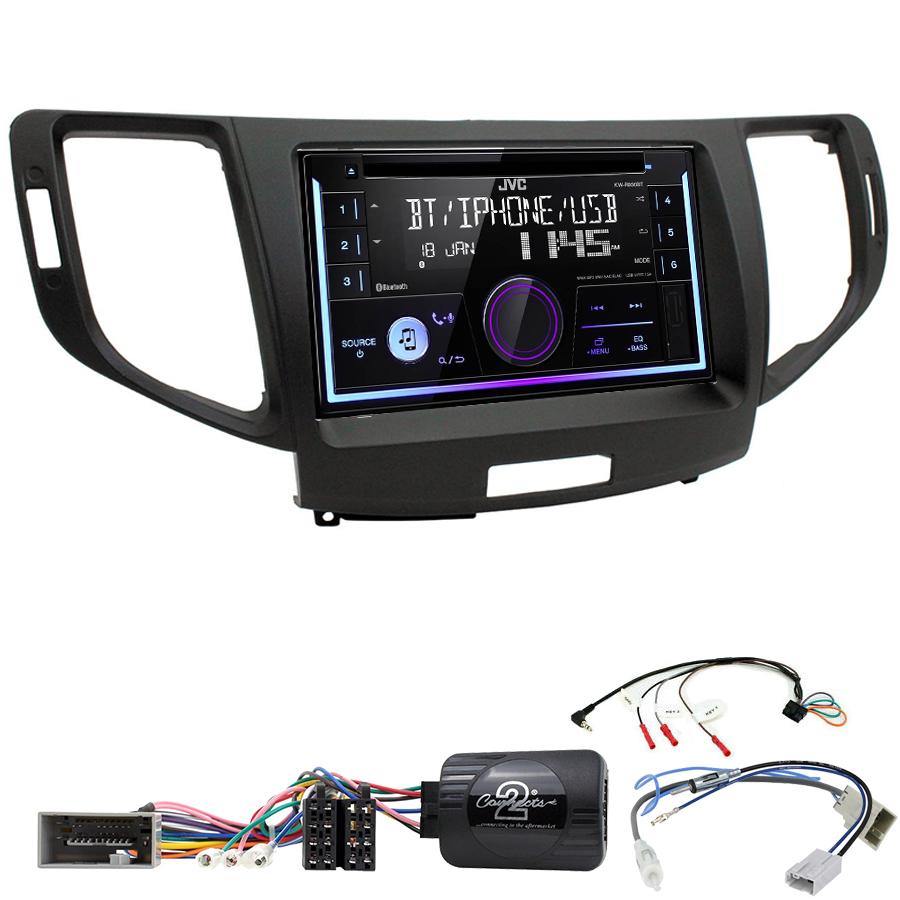 Kit d\'intégration Honda Accord de 2008 à 2013 + Autoradio multimédia USB/Bluetooth