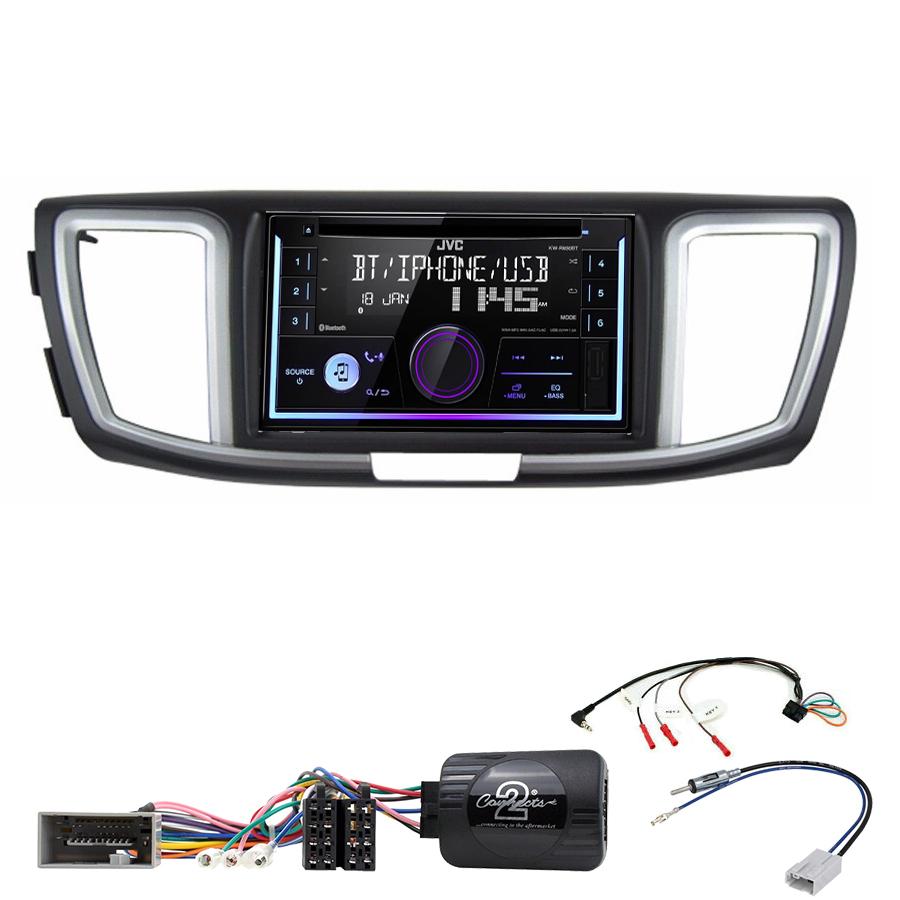 Kit d\'intégration Honda Accord de 2013 à 2019 + Autoradio multimédia USB/Bluetooth