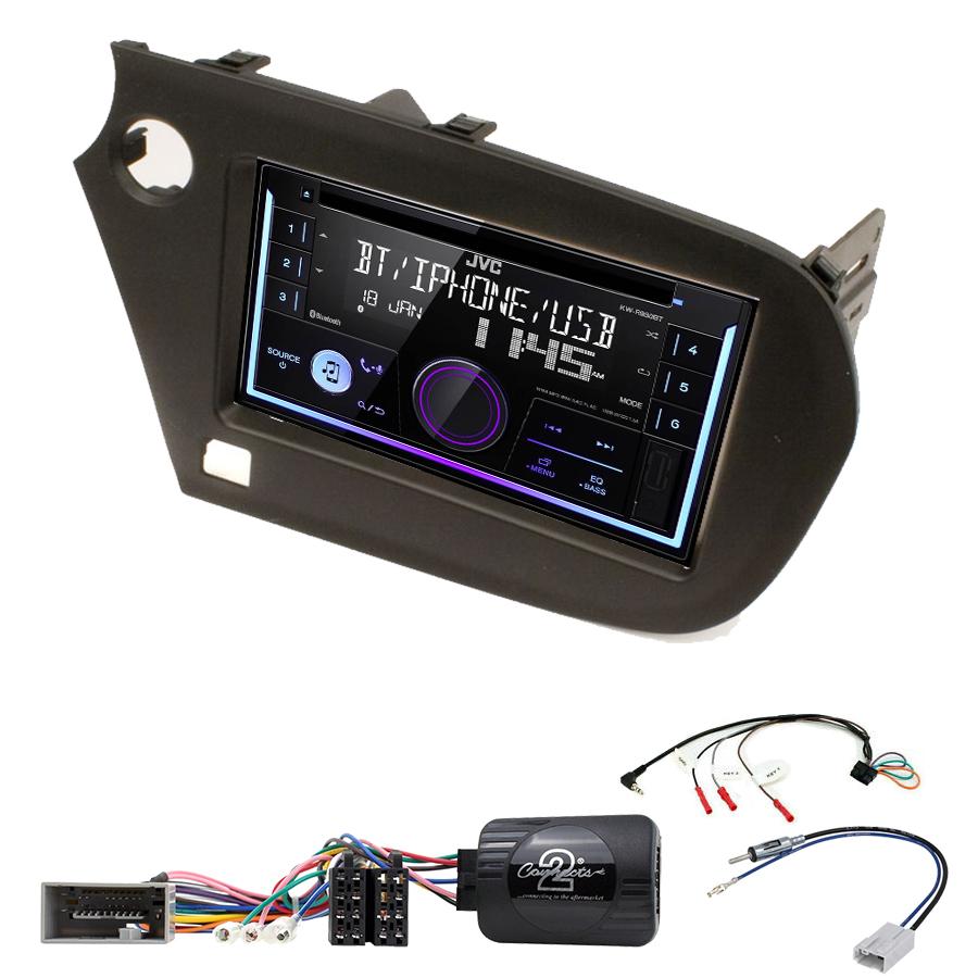 Kit d\'intégration Honda Insight de 2009 à 2014 + Autoradio multimédia USB/Bluetooth
