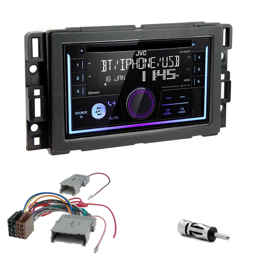 Kit d\'intégration Hummer H2 de 2008 à 2010 + Autoradio multimédia USB/Bluetooth