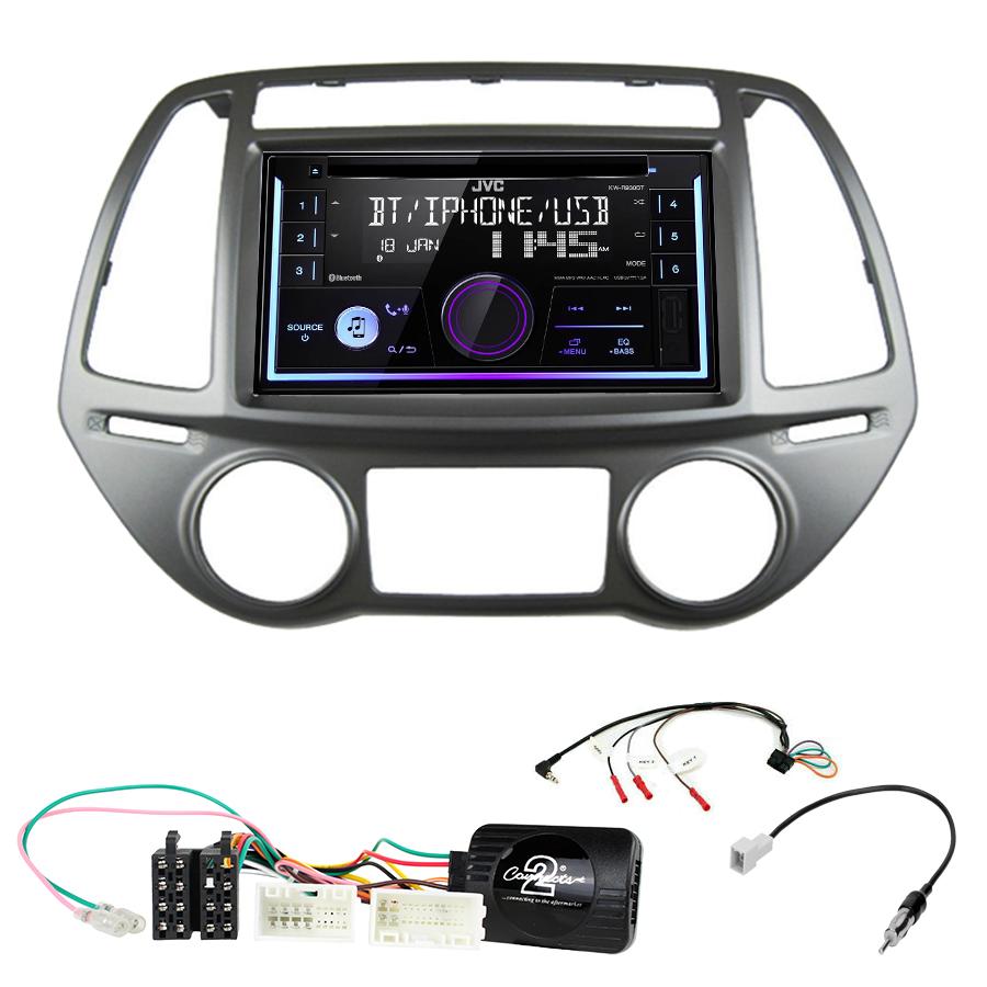 Kit d\'intégration Hyundai i20 de 2012 à 2015 + Autoradio multimédia USB/Bluetooth