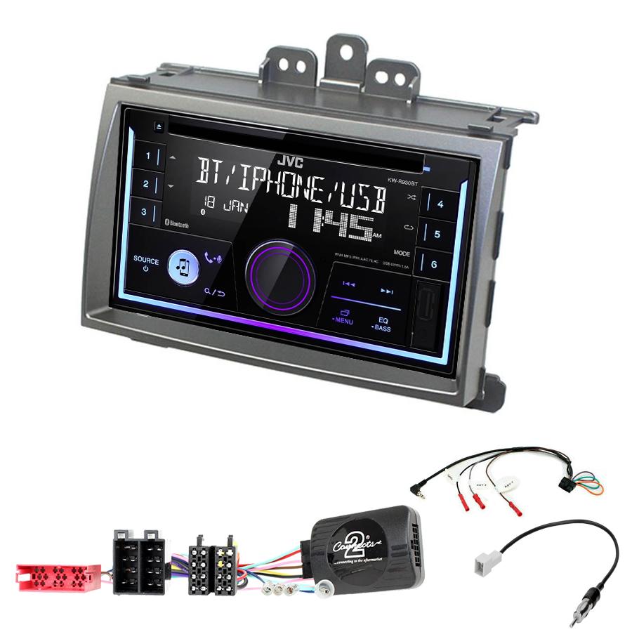 Kit d\'intégration Hyundai i20 de 2008 à 2012 + Autoradio multimédia USB/Bluetooth