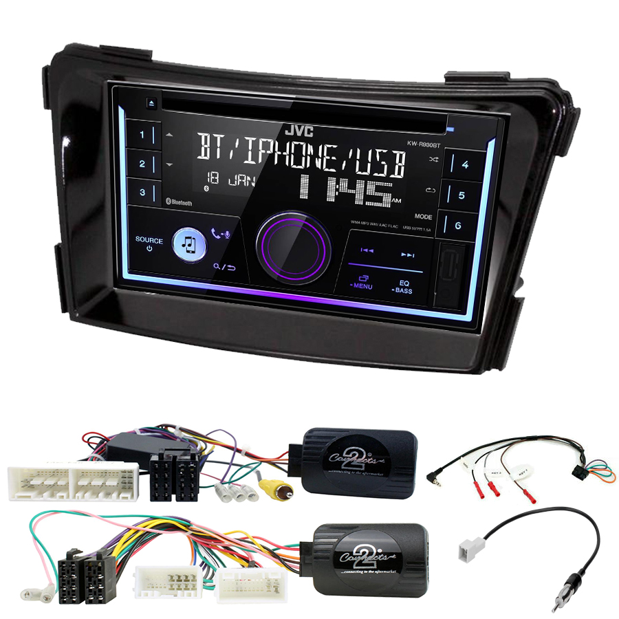 Kit d\'intégration Hyundai i40 de 2011 à 2019 + Autoradio multimédia USB/Bluetooth