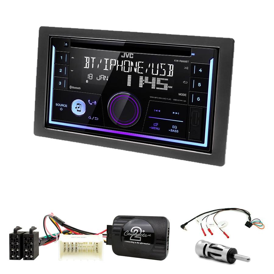 Kit d\'intégration Kia Carens de 2007 à 2010 + Autoradio multimédia USB/Bluetooth