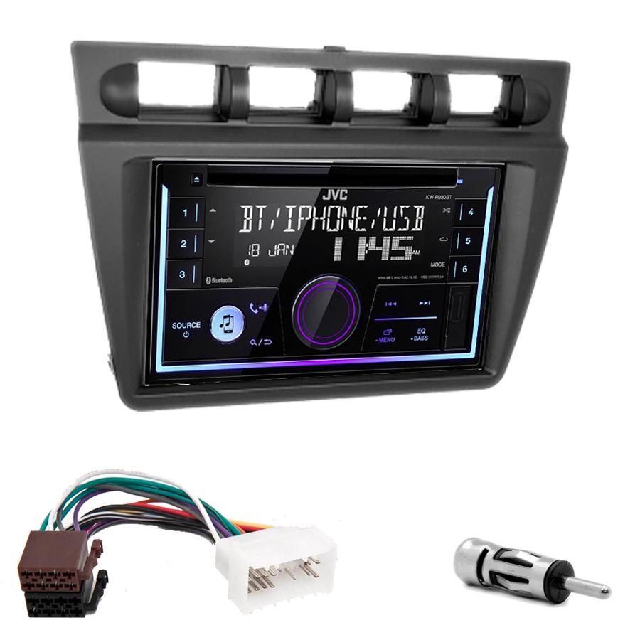Kit d\'intégration Kia Picanto de 2004 à 2007 + Autoradio multimédia USB/Bluetooth