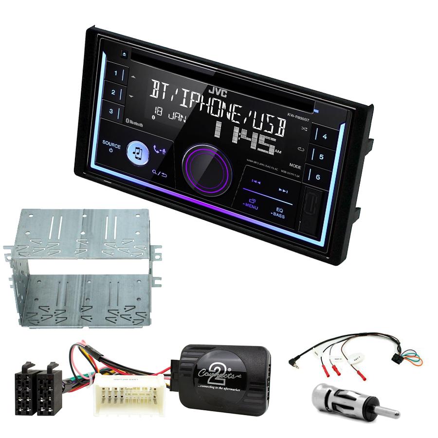 Kit d\'intégration Kia Sportage de 09/2008 à 07/2010 + Autoradio multimédia USB/Bluetooth