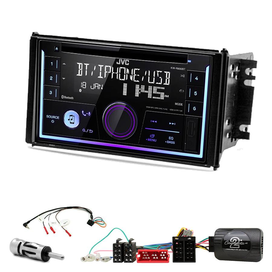 Kit d\'intégration Kia Sorento de 11/2006 à 03/2009 + Autoradio multimédia USB/Bluetooth