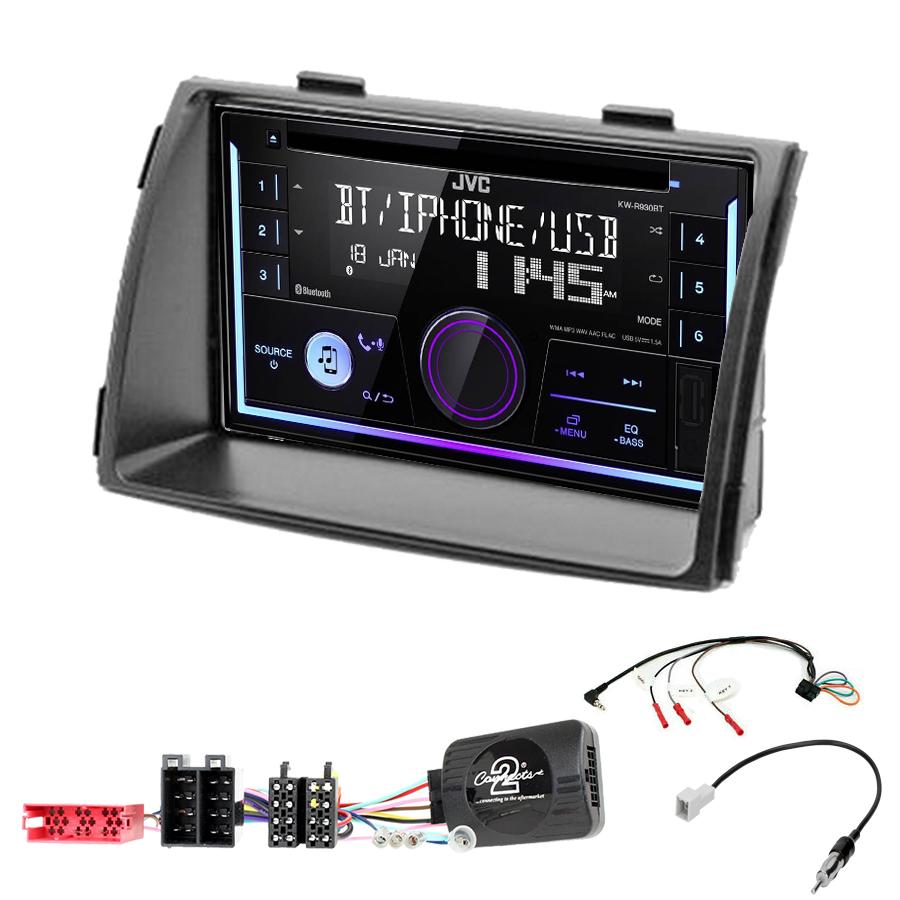 Kit d\'intégration Kia Sorento de 04/2009 à 2012 + Autoradio multimédia USB/Bluetooth