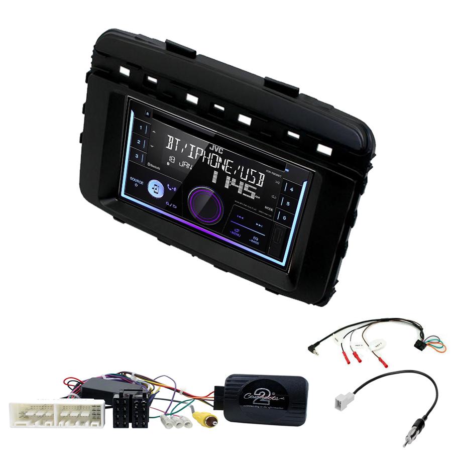 Kit d\'intégration Kia Sorento de 2015 à 2017 + Autoradio multimédia USB/Bluetooth