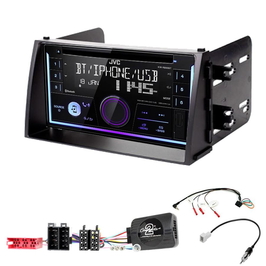 Kit d\'intégration Kia Soul de 11/2008 à 2010 + Autoradio multimédia USB/Bluetooth