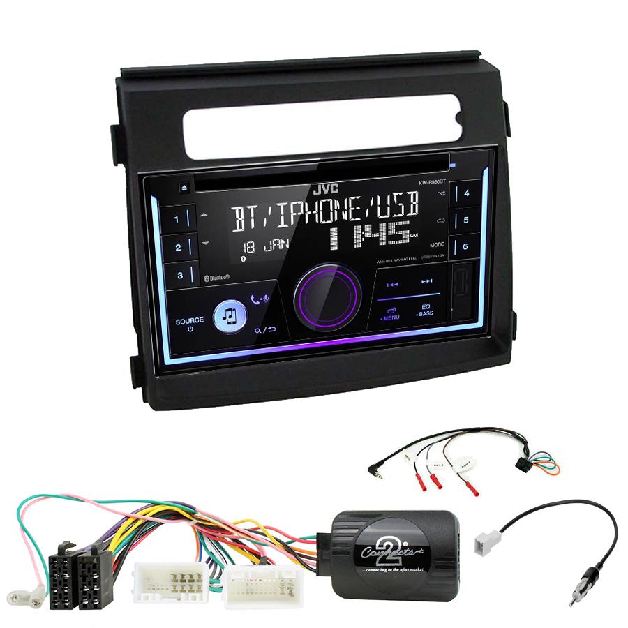 Kit d\'intégration Kia Soul de 10/2011 à 03/2014 + Autoradio multimédia USB/Bluetooth