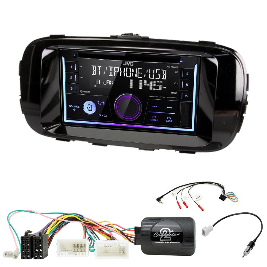 Kit d\'intégration Kia Soul de 2014 à 2018 + Autoradio multimédia USB/Bluetooth