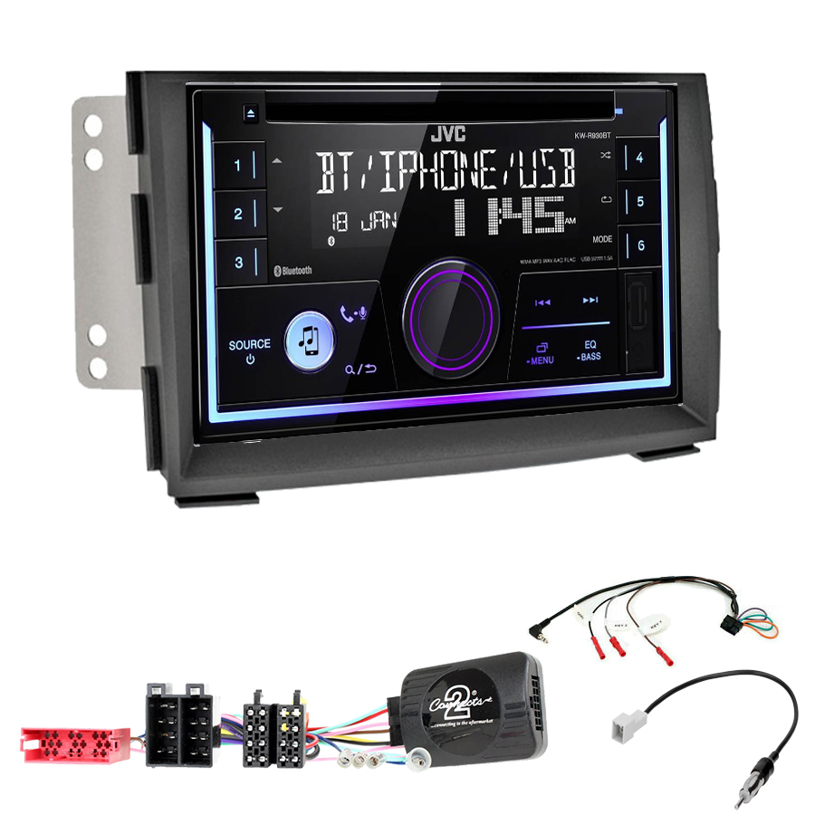 Kit d\'intégration Kia Venga de 2010 à 2015 + Autoradio multimédia USB/Bluetooth