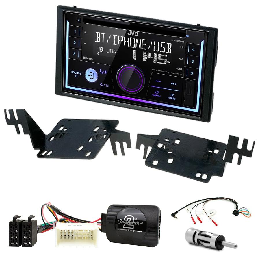 Kit d\'intégration Kia Rio et Sportage de 2005 à 2010 + Autoradio multimédia USB/Bluetooth