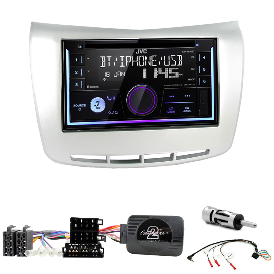 Kit d\'intégration Lancia Delta de 2009 à 2017 + Autoradio multimédia USB/Bluetooth