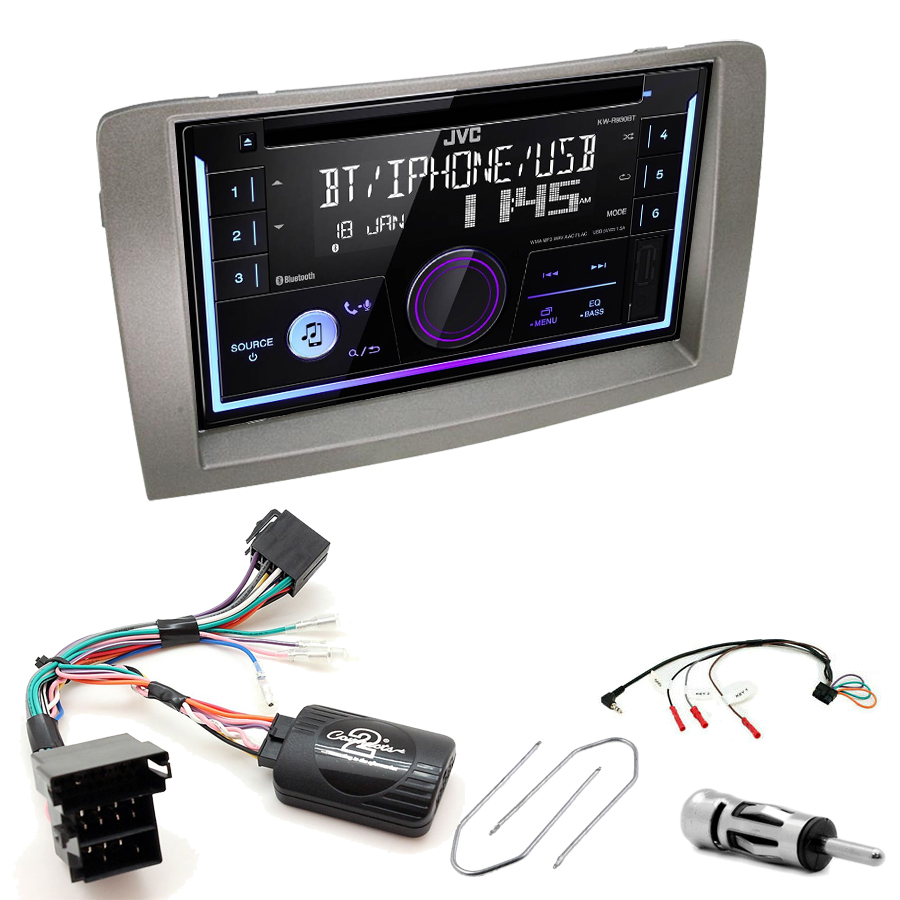 Kit d\'intégration Lancia Musa de 2005 à 2012 + Autoradio multimédia USB/Bluetooth