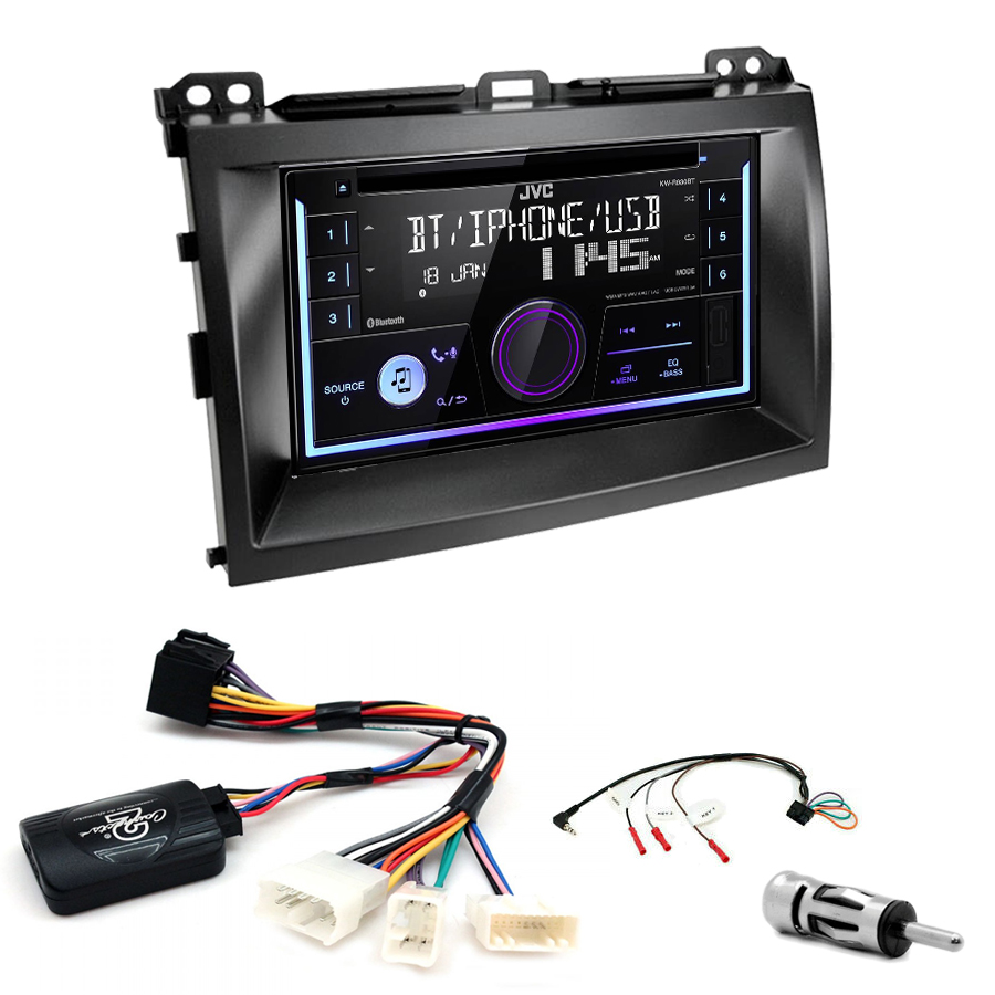 Kit d\'intégration Lexus GX-470 + Autoradio multimédia USB/Bluetooth