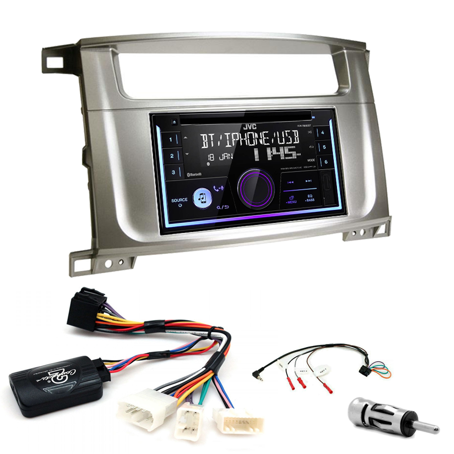 Kit d\'intégration Lexus LX-470 + Autoradio multimédia USB/Bluetooth