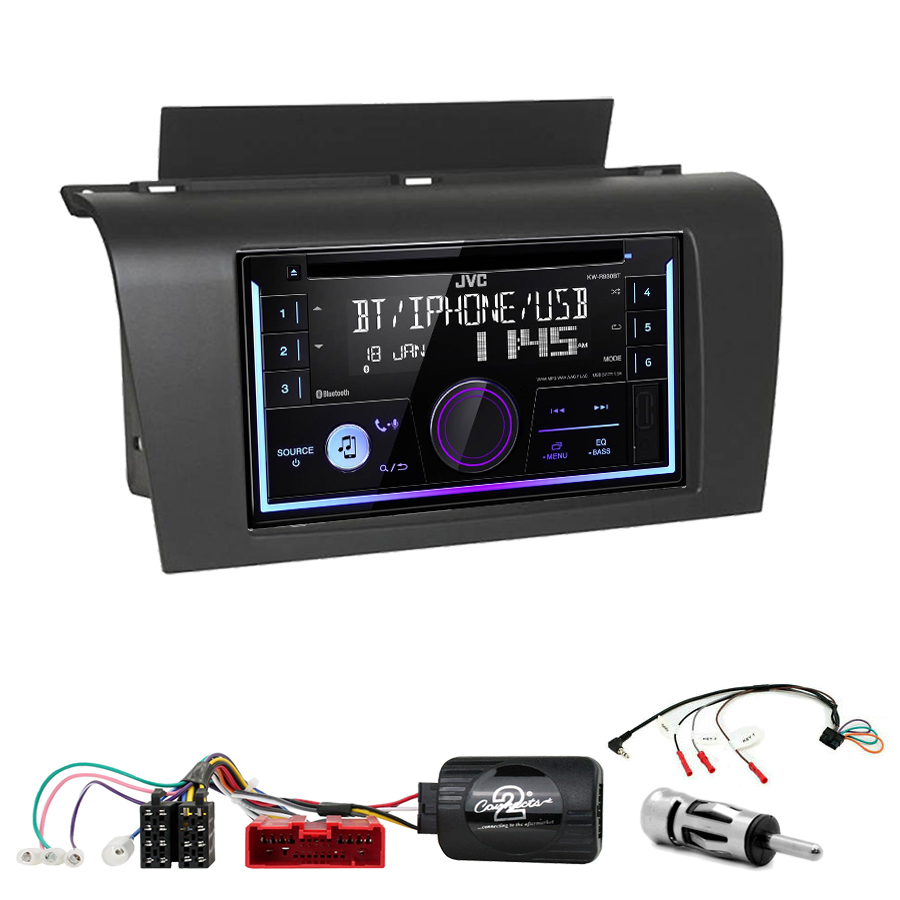 Kit d\'intégration Mazda 3 de 2003 à 2007 + Autoradio multimédia USB/Bluetooth